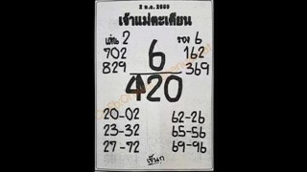 เลขเด็ด 16_5_59 เจ้าแม่ตะเคียน หวย งวดวันที่ 16 พฤษภาคม 2559