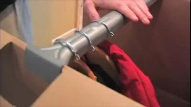 วิธีการแพ็คกล่องตู้เสื้อผ้า แบบไม่ต้องกลัวยับ