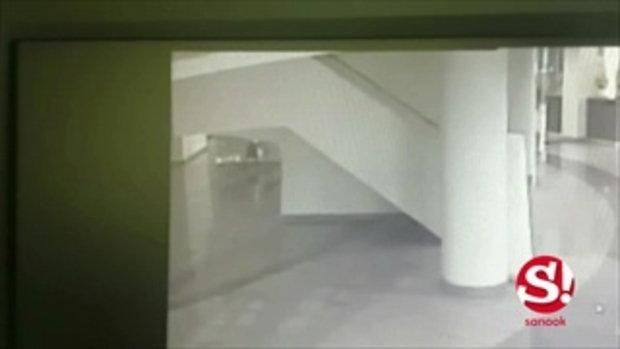 กล้องวงจรปิด ผู้ก่อเหตุ ดร. ยิงดับ 2 ศพ ราชภัฏพระนคร
