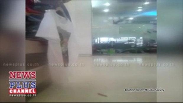 2โจรบุกปล้นธ.กรุงเทพในโลตัสอุดรธานีชิง4แสนหนีลอยนวล