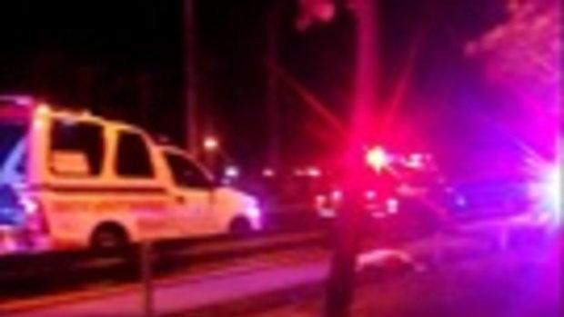 อุบัติเหตุ รถกระบะชนคน ชนแล้วหนี !!