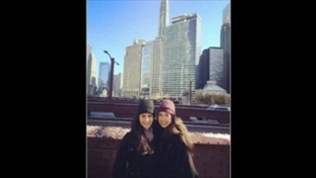 น้องเจด้าโตทันแม่จีน่าแล้วสวยทั้งคู่อย่างกับพี่สาว น้องสาว