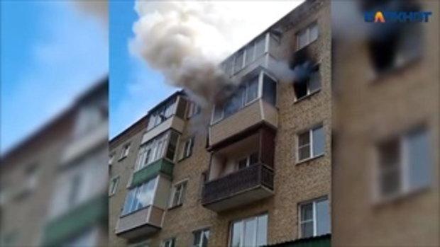 นาทีชีวิต พ่อโยนลูกๆ ภรรยาดิ่งตึกชั้น 4 ให้พลเมืองดีรับ จนรอดไฟไหม้