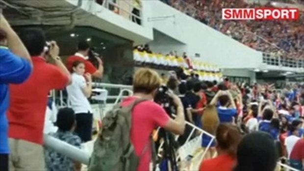 วินาที รับแชมป์ของ กัปตันอุ้ม.... | ฟุตบอล ชิงถ้วยพระราชทาน คิงส์ คัพ ครั้งที่ 44