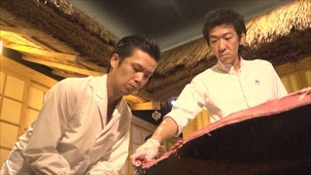กระบี่มือหนึ่ง : Sushi Hiro เชฟแล่ปลาญี่ปุ่น (15 ก.พ.59)