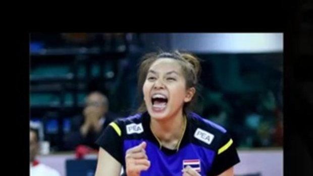 รวมภาพอดีต ปัจจุบัน พรพรรณ เกิดปราชญ์ สาวน้อยน่ารัก นักตบทีมชาติไทย