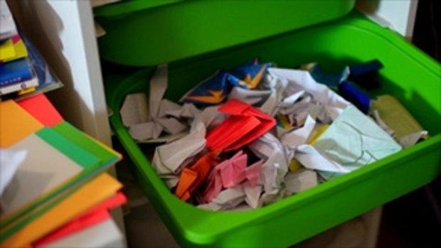 กระบี่มือหนึ่ง : เด็ก 9 ขวบ นักพับกระดาษ (8 ก.พ.59)