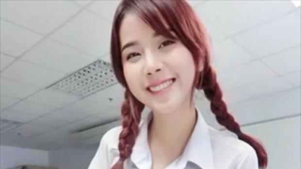สาวไทย ผู้ครองตำแหน่งหน้ามัธยม นมมหาลัย