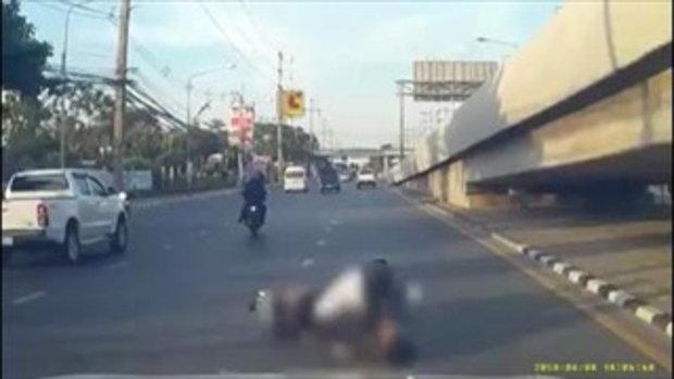 เด็กอาชีวะไล่ยิงเด็ก ม.3 ล้มกลางถนน