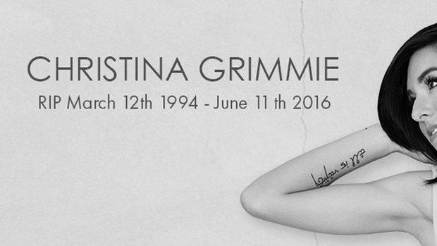 ไว้อาลัย Christina Grimmie