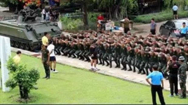 ทหารใหม่ถูกลงโทษ เจอแฟนสาวโผล่เซอร์ไพรส์วันเกิด