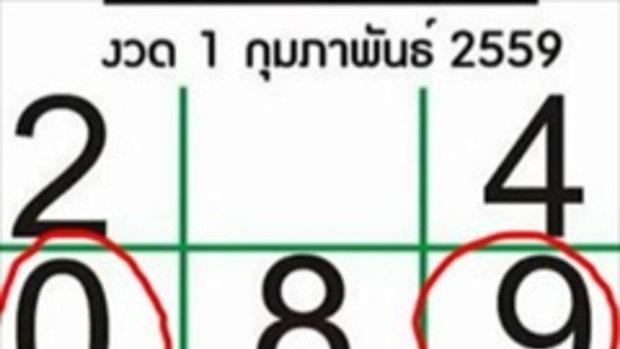 สถิติหวยไทยรัฐ ปี 2559 มาดูกันว่าแต่ละงวดแม่นแค่ใหน