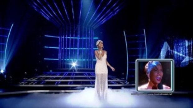 เปลี่ยนหน้าท้าโชว์ ซีซัน2 18 มิ.ย. 59 S6 ต้นหอม =  Whitney Houston - I Have Nothing