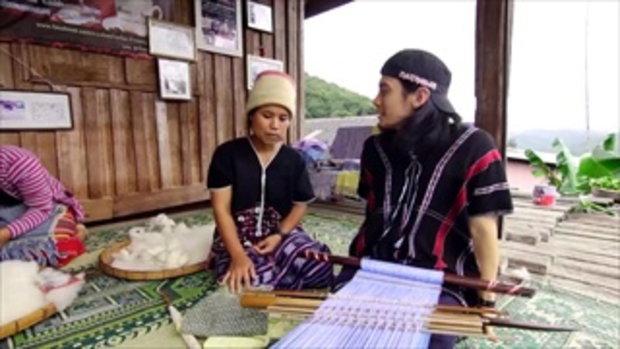 กบนอกกะลา : ผ้าทอขนแกะ ทอมือทอไทย ช่วงที่ 4/4 (07 ส.ค 58)