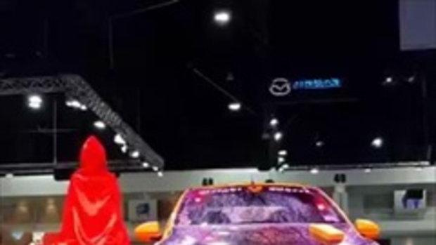 เก๋ เลเดอเรอร์ ขึ้นโชว์ Sexy Car Wash งาน Bangkok International Auto Salon 2016