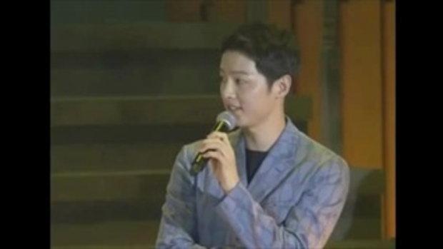 ซงจุงกิบอกอยากแสดงละครคู่กับซองเฮเคียวในอายุ30ปี!!