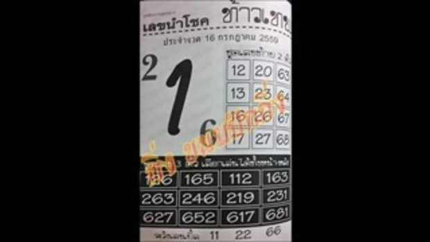 เลขเด็ด 16_7_59 เลขนำโชค ท้าวเทพ หวย งวดวันที่ 16 กรกฏาคม 2559