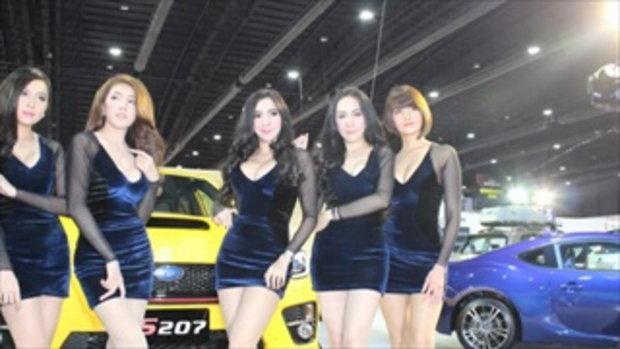 ชมความเซ็กซี่ของสาวๆ พริตตี้ ในงาน Bangkok Auto Salon 2016