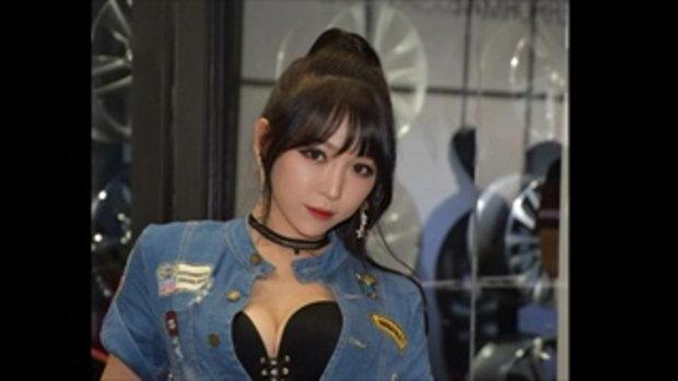 พริตตี้สาวแดนโสม สวย เซ็กซี่ ในงาน SEOUL AUTO SALON 2016
