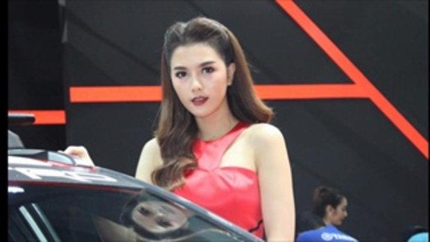 พริตตี้สาวสวย บู๊ท TOYOTA ในงาน Bangkok Auto Salon 2016