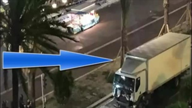 Nice FRANCE attack more than 70 people dead MUST SEE