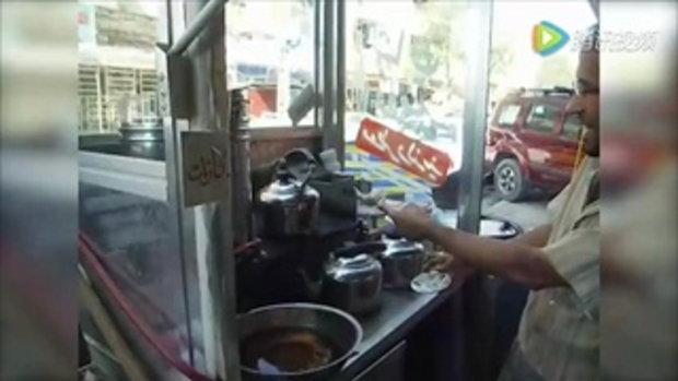 โชว์เทพ เคาะแก้ว ร้านน้ำชาในอิรัก