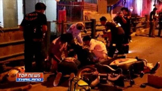 วัยรุ่นปทุมธานีไล่ยิงกันดับ 2 ศพ ชาวบ้านโดนลูกหลงถูกยิงบาดเจ็บ 1 ราย