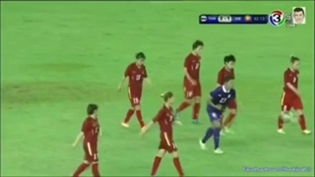 ไฮไลท์การทำประตู ฟุตบอลหญิงชิงแชมป์อาเซี่ยน ทีมชาติไทย 0-2 ทีมชาติเวียดนาม