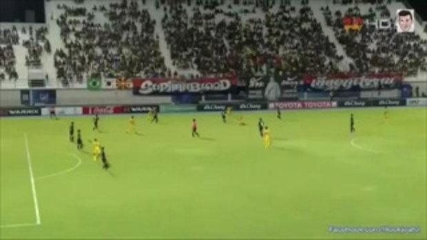 ไฮไลท์การทำประตู ฟุตบอลไทยลีก สุพรรณบุรี เอฟซี 2-3 ซุปเปอร์พาวเวอร์