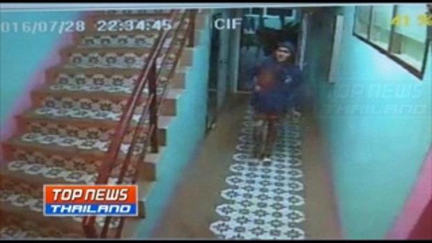 ตำรวจภูธรบ้านเป็ดเร่งติดตามคนร้ายตามเหยื่อสาวถึงห้องพักหวังข่มขืน