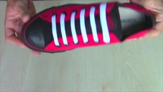 วิธีการผูกเชือกร้องเท้าแบบง่ายๆ