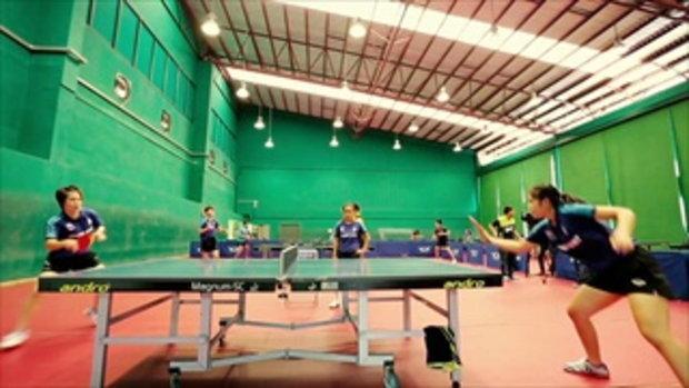 นันทนา คำวงศ์ นักกีฬาเทเบิลเทนนิสหญิงทีมชาติไทย