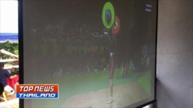เฮทั้งน้ำตา! ยายเจ้าดุ่ยฮีโร่เหรียญทองแดงโอลิมปิก ลุ้นเชียร์หลานจนเป็นลมเสียชีวิต