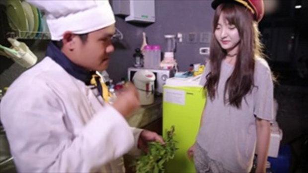 ทำเองกินเอง EP.9 พิซซ่ามาม่าขี้เมารวมมิตร Feat.เนเน่