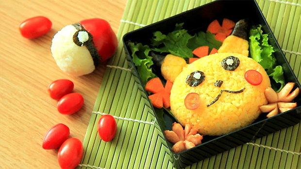 Sanook Good Stuff: เบนโตะโปเกม่อน น่ารักน่าทาน แถมอร่อย