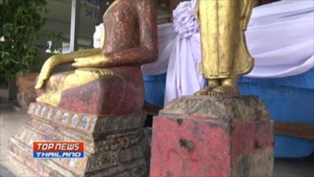 คนร้ายนำพระพุทธรูป 2 องค์ ของ วัดร่องบอน มาคืนพร้อมจดหมายขอโทษ