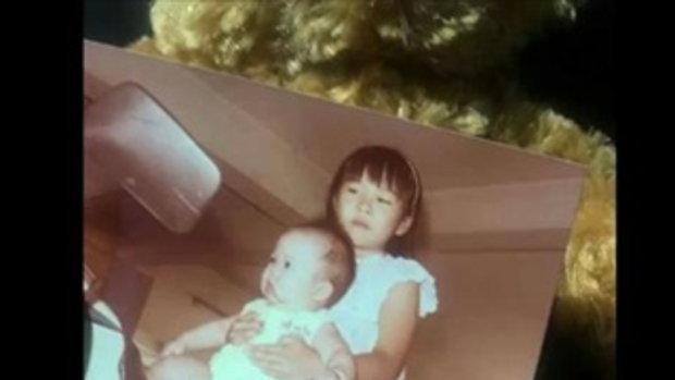 วีเจจ๋า อาลัยรัก จูน กอปรบุญ โพสต์รูปคู่ในวัยเด็ก นางฟ้าตัวน้อยของพี่