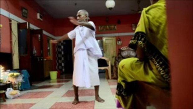 ชายชาวอินเดียวัย 120 ปี!!!  เผยชอบฝึกโยคะเเละละกิเลสทั้งปวง