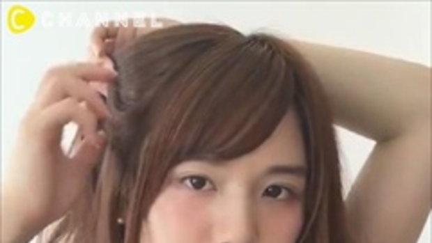 ทรงผมหูแมว ทรงแบ๊วๆของสาวญี่ปุ่น