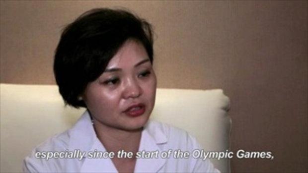 บำบัดนักกีฬาโอลิมปิก ด้วยการครอบแก้ว
