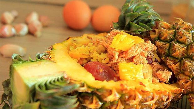 Sanook Good Stuff  : ข้าวผัดสับปะรด หวานตัดเปรี้ยว อร่อยลงตัว