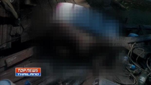 สุดสยอง ตัวเงินตัวทองนับสิบลากศพเฒ่าวัย 88 ออกมารุมกัดกิน หลังเสียชีวิตในกระท่อมริมคลอง