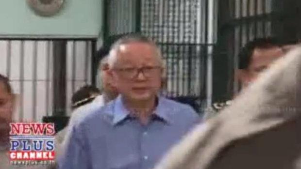 คุก20ปีสนธิลิ้มทำรายงานเท็จกู้กรุงไทยพันล.-คุมเข้าเรือนจำ