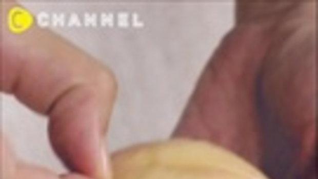 วิธีปอกและหั่นลูกพีชให้เนียนสวย - C CHANNEL