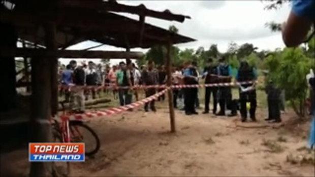 ตำรวจเผยภาพคนร้ายฆ่าหั่นศพที่ จ.อุดรธานี พบปั่นจักรยานของชาวบ้านที่ขโมยมาก่อนก่อเหตุ