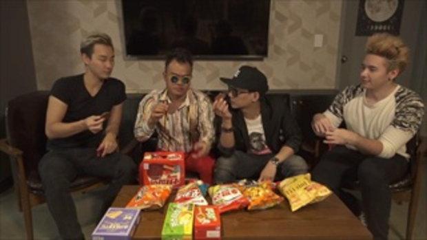 คนไทยลองกิน ขนมเกาหลี feat.BapMokja and Haeppy