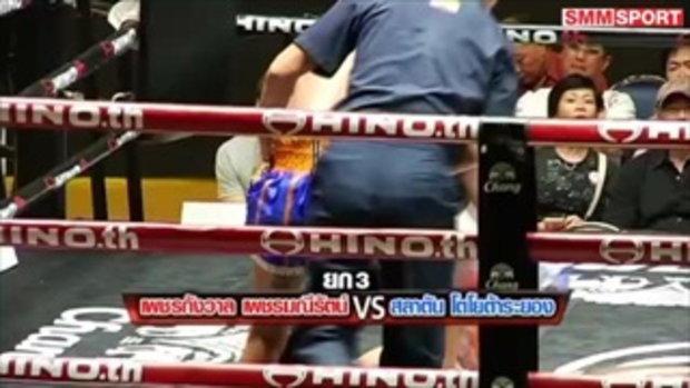 คู่มันส์ มวยไทย : เพชรกังวาล เพชรมณีรัตน์ vs สลาตัน โตโยต้าระยอง