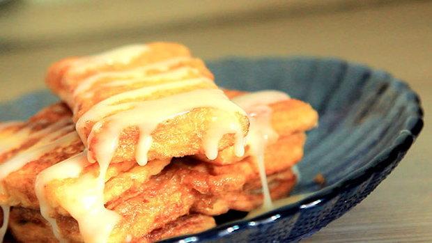 Sanook Good Stuff : วิธีทำขนมปังกล้วยทอด