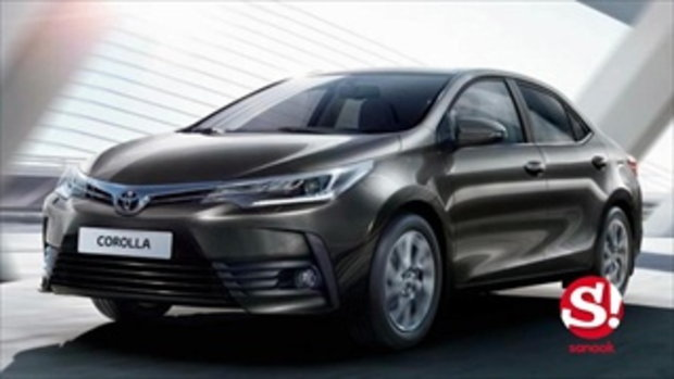 หลุด 2017 Toyota Corolla Altis ใหม่ ก่อนเปิดตัวจริงที่ไต้หวัน