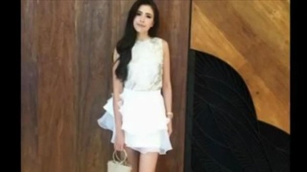 เจ้าหญิงชัดๆ ศรีริต้า กับ ชุดขาว สวย แพง เลอค่าที่สุด